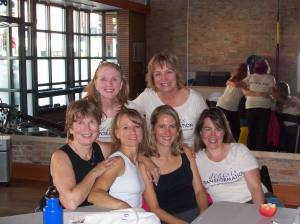 Marilyn, Nance, Tami, MaryAnn, Christy, Jill