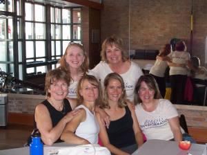 Marilyn, Nance, Tami, MaryAnn, Christy, Jill