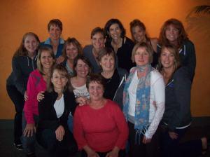 the group at Bonelli's Bistro
