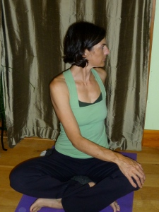 Seated Side Twist